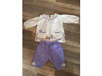Designer Belle & Boo baby set by John Lewis