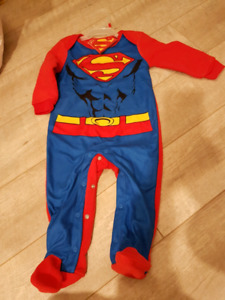 Superman sleeper. 6-12 mo. BNWT
