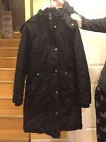 Womens Winter Parka Small S Ladies Le Chateau Down Filled
