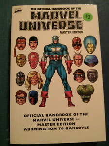 The official handbook of the Marvel universe master edition
