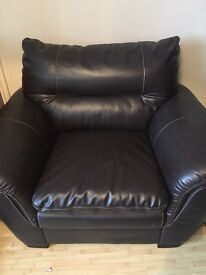 Leather arm chair (REDUCED!!!!!)