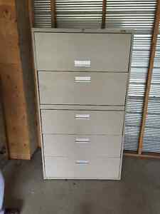 2 Pro Source 5 drawer filing cabinets London Ontario image 1