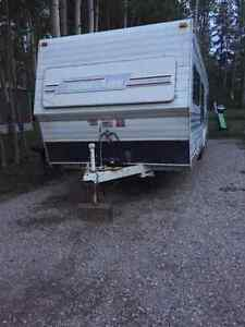 1989 travelaire 28ft bumper pull camper ready to camp !