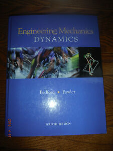 Engineering mechanics dynamics Bedford Fowler, 4e edition