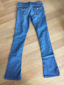 g by guess slim bootcut jeans sz:25/1