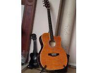 Semi-acoustic guitar /swap