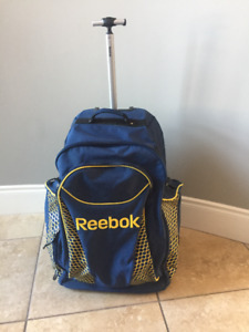 Girls Reebok Hockey bag and other gear
