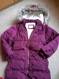 Padded school coat John Lewis