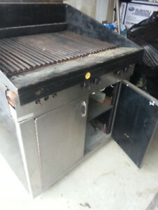 Commercial Grill Gas Garland Restaurant Grill