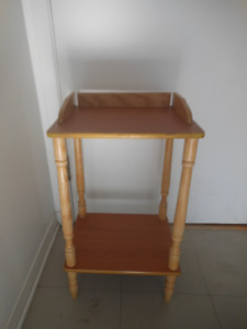 Bedside table or plant stand