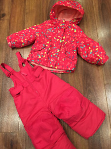Snow Pants and Jacket Set, size 12 months, $6