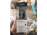 Fitbit Charge HR (Black) Large Brand New Never Worn