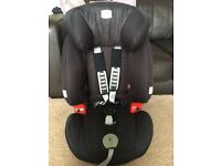 Britax Evolva 123 car seat 9m-11yrs immaculate!!!!
