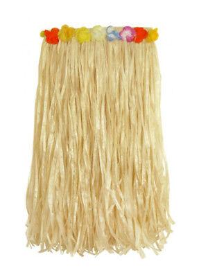 Ladies Women Luau Skirt 80cm Hula Hawaiian Fancy Dress Beach Party Carnival (80 Beach Party Kostüme)