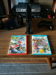 Complete Wii U w/ Games and Pro Controller