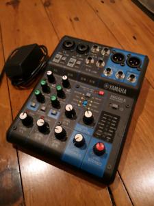 Yamaha MG06X 6 input compact mixer