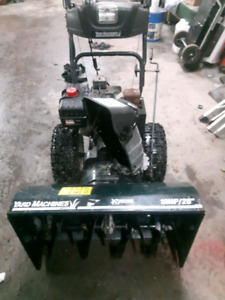 MTD SNOWBLOWER  excellent condition