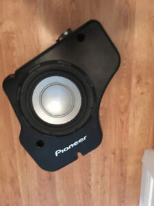 pioneer sub woofer for a car