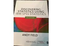 SPSS BOOK- Great for psychology/sociology related courses