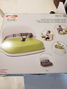 BNIB OXO Tot Perch Booster Seat With Straps, Taupe