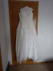 Ivory Dress With Applique