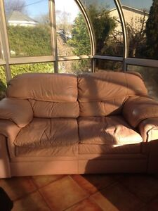 Leather couch - need to go asap