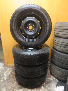Gislaved Nord Frost Tires w/Steel wheels - $500 - snow - ice