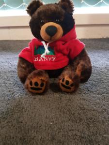 Plush bear - BANFF