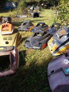 antique sleds cabs