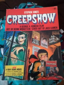 Creepshow graphic comic by Stephen King 1982, 1st edition