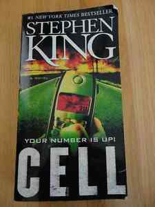 The Cell Horror novel by Stephen King London Ontario image 1