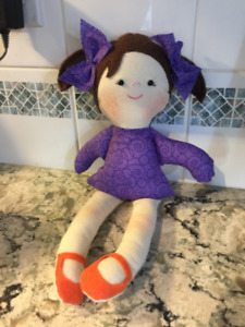 "Rag dolls by"" Froggy Baby Designs"""