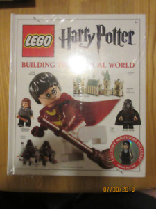 Lego Harry Potter  Building the magical world book unopened