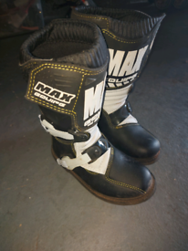 Childs Motocross Boots