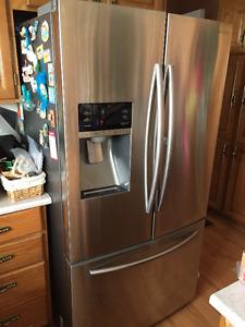 2015 Purchased Brand New Stainless Steel/Double Door/Freezer
