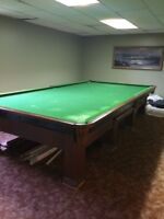 SNOOKER Pool Table 6 x 12