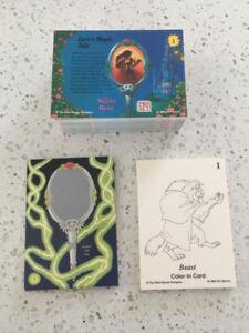 Walt Disney&#Beauty and the Beast Card Set Pro Set, 1992