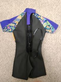 Camaro shortie wetsuit