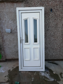 PVC door and frame