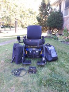 Quantum Motorized Wheelchair
