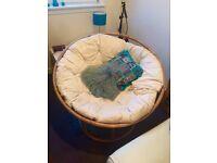 Basket chair hippie/bohemian LOWERED PRICE