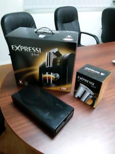 Aldi Expressi Coffee Machine Milk Frother & Capsule Storage