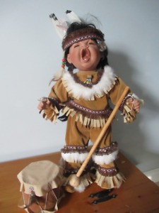 LARGE NATIVE DOLL