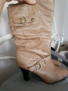Two pairs of fashion boots