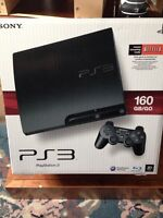 160 GB PlayStation 3    $225 or best offer