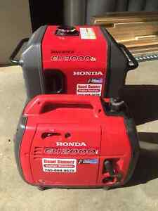 GENERATOR RENTALS 2000 OR 3000 HONDA INVERTERS  $35 A DAY FOR 2