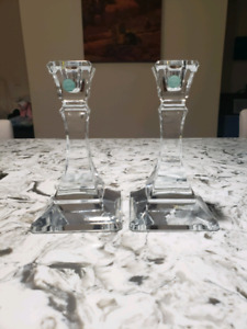 Tiffany's Crystal Candlestick holders