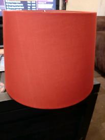 Big Red Lampshade