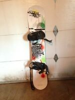 Beacon Snowboard 152 cm w/bindings $200 OBO