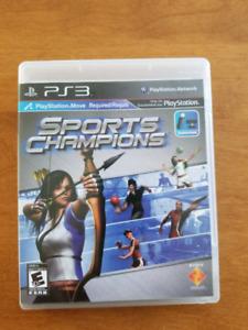 PS3 - Jeu Sports Champions